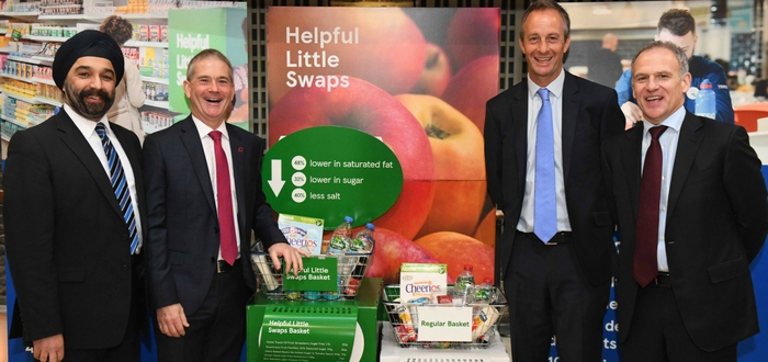 Three of the UK's leading health charities have today come together with the UK's leading food retailer to help tackle the nation's biggest health challenges.