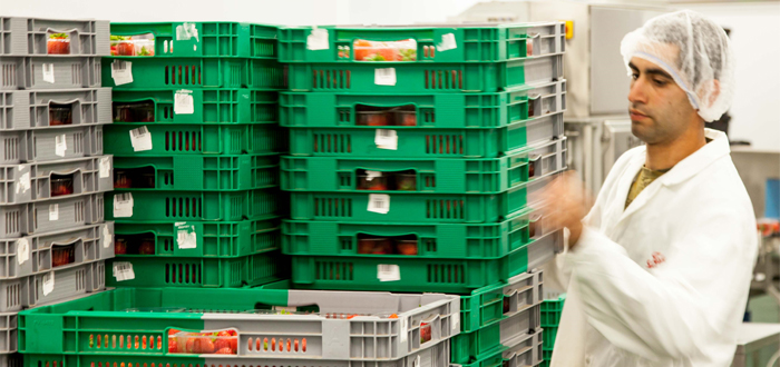 Two-Colour Crates Make Stacking And Storing Easier Than Ever.