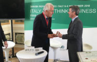 Alberto Frausin, Managing Director Of Carlsberg Italia, Awarded His Royal Highness Prince Henrik's Medal Of Honour By Denmark's Crown Prince.