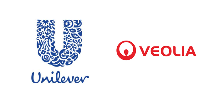 Unilever And Veolia Sign Collaboration Agreement On Sustainable Packaging.