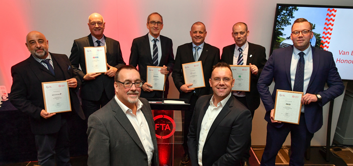 Partners Recognised For Supporting Van Excellence Scheme.