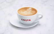 COSTA COFFEE NAMED THE NATION'S FAVOURITE COFFEE SHOP FOR THE NINTH CONSECUTIVE YEAR