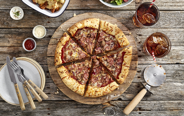 Chicago Town Brings A Taste Of America With New Stuffed Crust Pizza.