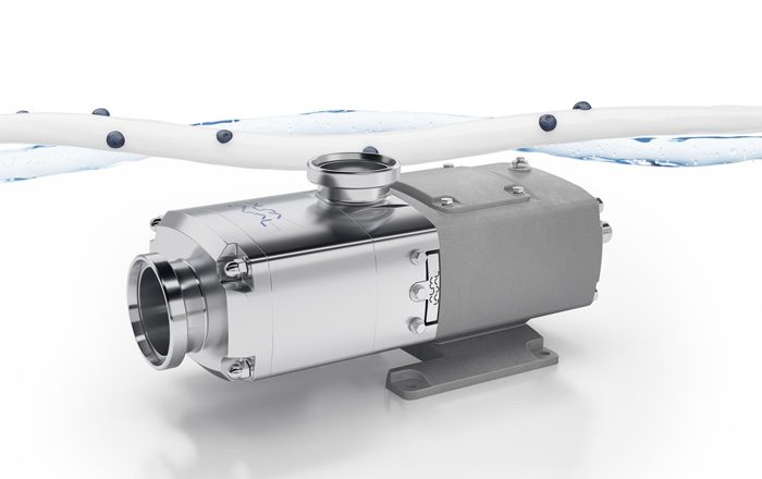 Delicate And Quiet Operation With Alfa Laval's New Robust Twin Screw Pump.