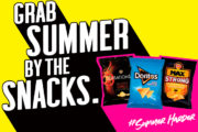 Walkers Sensations, Max Strong And Doritos, Join Forces  To Help Shoppers 'Grab Summer By The Snacks'.
