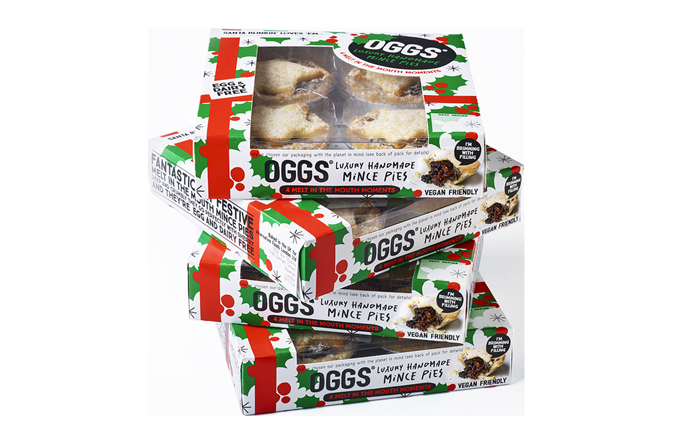 OGGS® To Launch Luxury Handmade Mince Pies.
