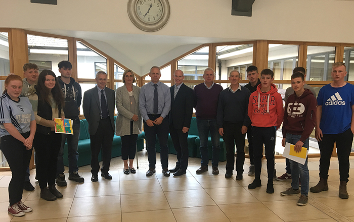Champions For Safety Seminar In Teagasc Kildalton Agricultural College.