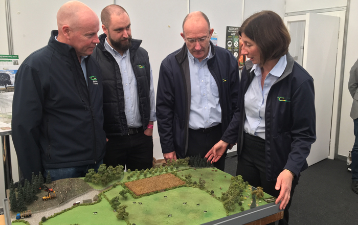 Innovative Model Showing Important Roles Of Forestry On Farm.