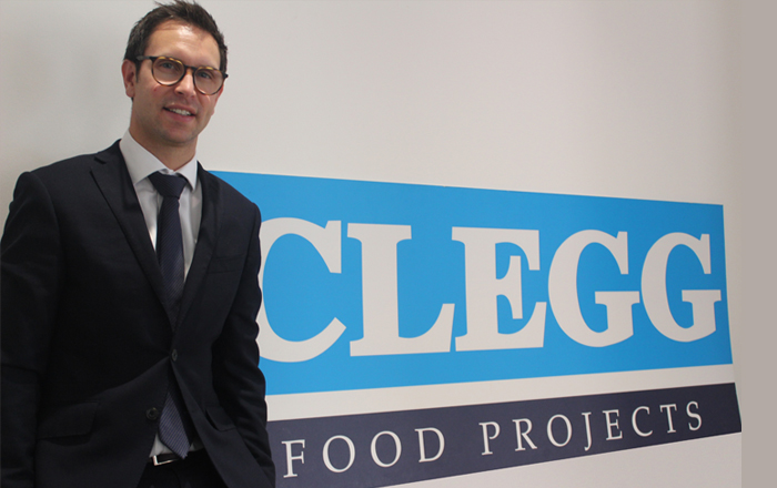 New Business Manager Eager To Help Clegg Food Projects Boost Growth.