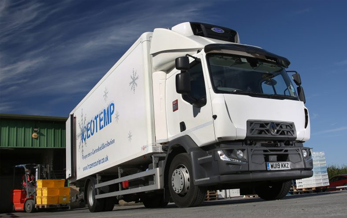 Carrier Transicold Supra® 850 MT Chosen For Iceotemp's First Ever 18-Tonne Reefer.