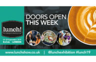 See You At ExCeL: lunch! Show Returns To London This Week.