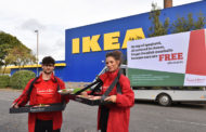 Meat-BALLS To IKEA!  Frankie & Benny's Dish Out Free Meatballs To IKEA Customers.
