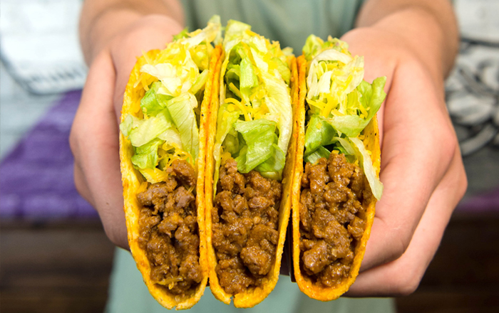 Taco Bell® Brings It's Legendary Taco Made Of Doritos To The UK; And They're Giving Them Away For Free.