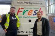 Jonny Wilkinson's No.1 Living Kombucha Doesn't 'Half Fly' Out During Their Marketing Campaign Thanks To Fresh Logistics.